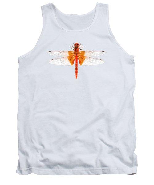 Scarlet Dragonfly Species Crocothemis Erythraea Tank Top
