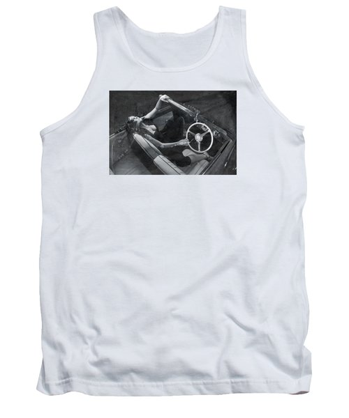 Tank Top featuring the photograph  Girl #3253  by Andrey  Godyaykin