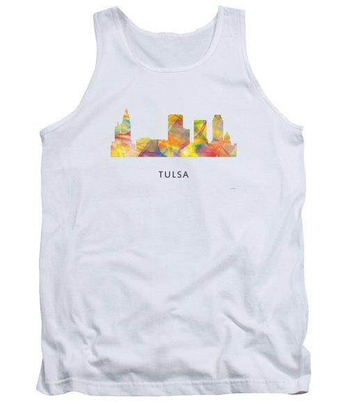 Tulsa Oklahoma Skyline Tank Top