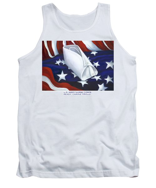 U.s. Army Nurse Corps Tank Top