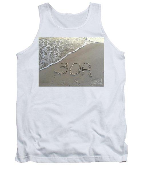 30a Beach Tank Top by Megan Cohen