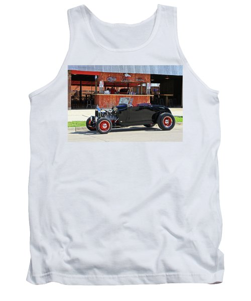 Tank Top featuring the photograph 32 Roadster by Christopher McKenzie