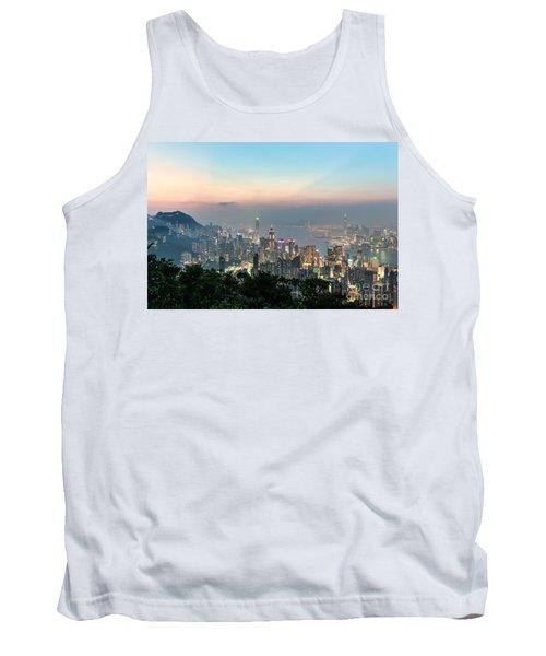 Hong Kong Skyline Tank Top
