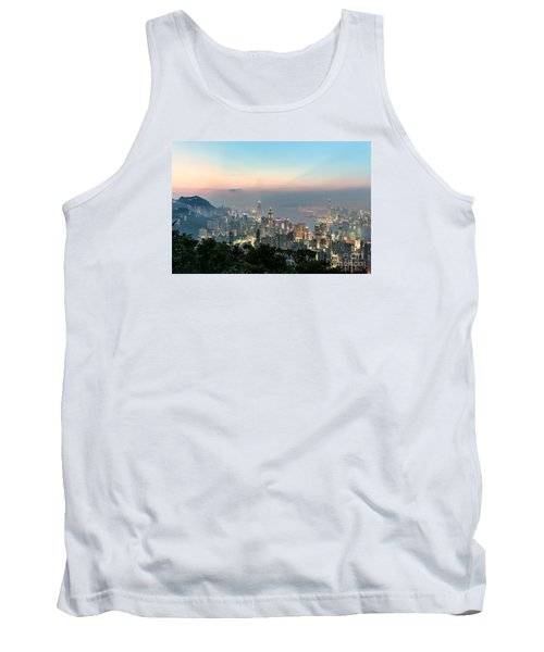 Hong Kong Skyline Tank Top