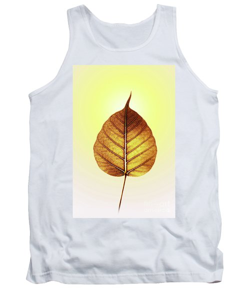 Tank Top featuring the photograph Pho Or Bodhi by Atiketta Sangasaeng