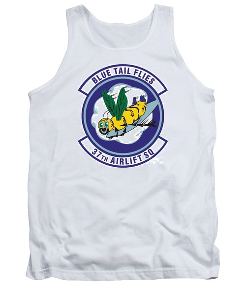 37th Tactical Airlift Squadron Tank Top by David Bearden