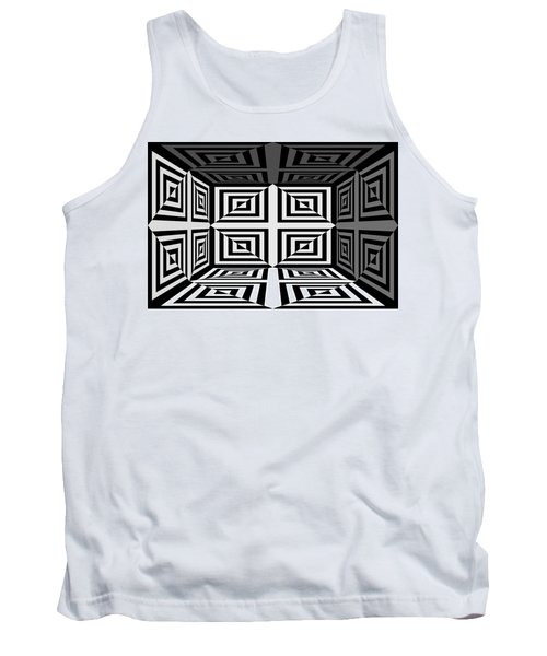 Tank Top featuring the photograph 3d Mg253daw by Mike McGlothlen