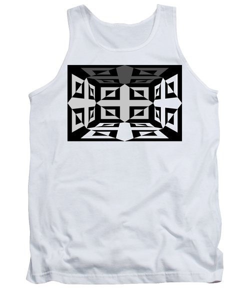 Tank Top featuring the photograph 3d Mg3d4w by Mike McGlothlen