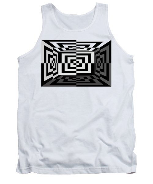Tank Top featuring the photograph 3Dw by Mike McGlothlen