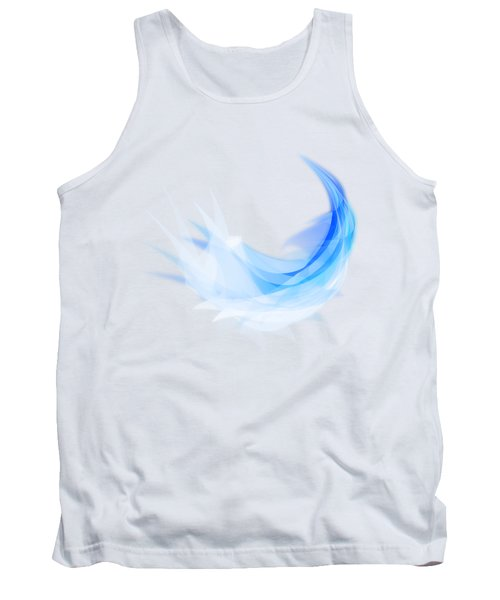 Abstract Feather Tank Top