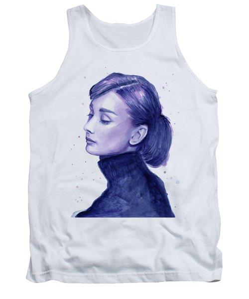 Audrey Hepburn Portrait Tank Top