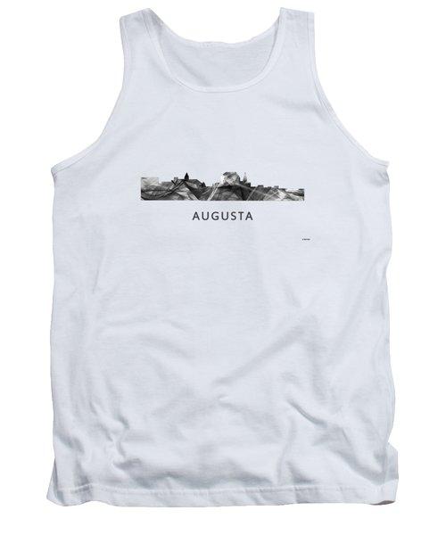 Augusta Maine Skyline Tank Top by Marlene Watson