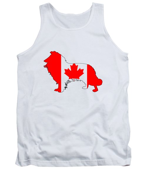 Border Collie Tank Top by Mordax Furittus