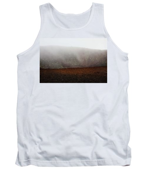 Etna, Red Mount Crater Tank Top