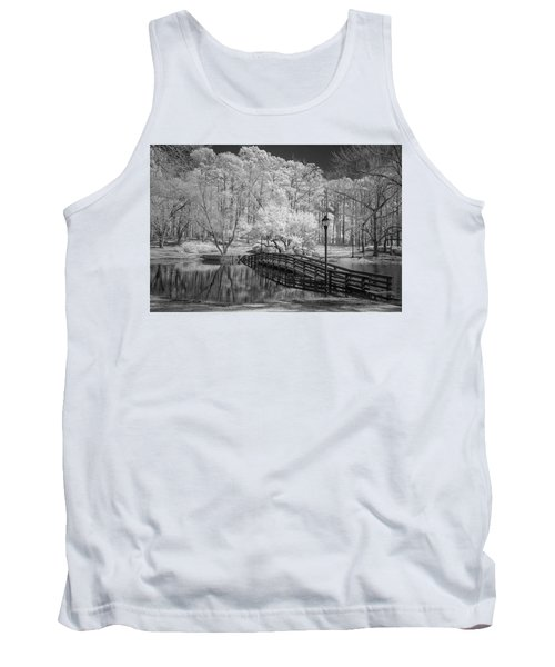 Bridge Over Water Tank Top by Denis Lemay