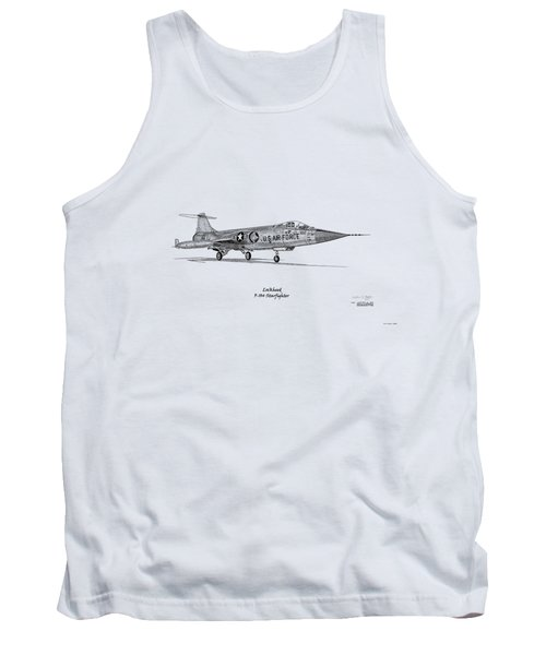 Lockheed F-104 Starfighter Tank Top