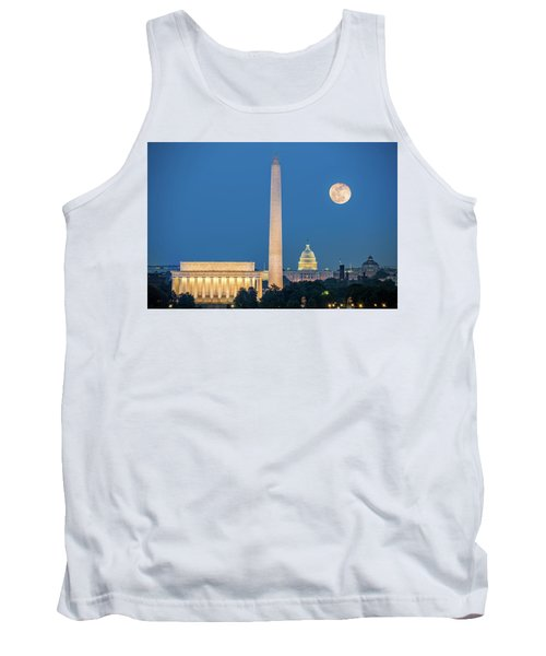 4 Monuments Tank Top