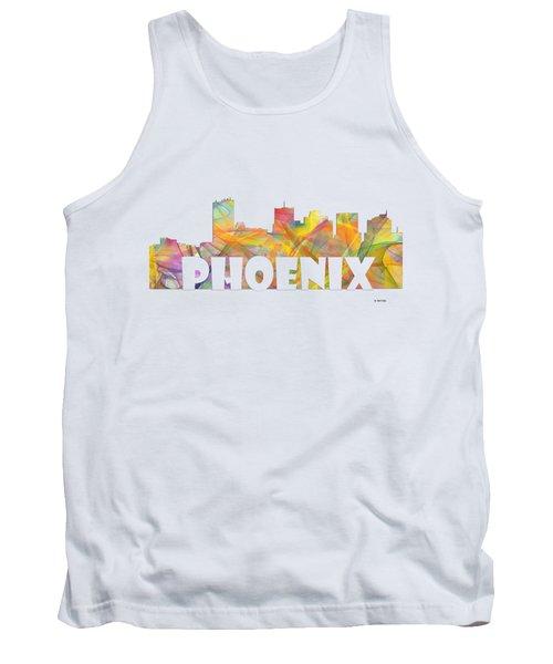 Phoenix Arizona Skyline Tank Top
