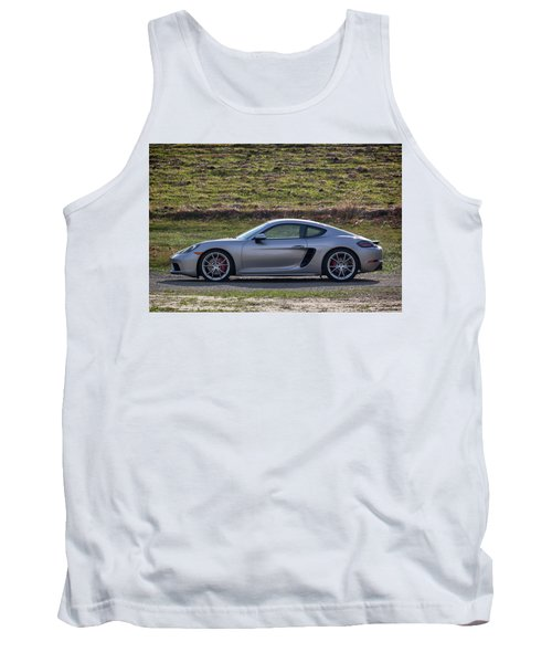Tank Top featuring the photograph #porsche #718cayman S #print by ItzKirb Photography