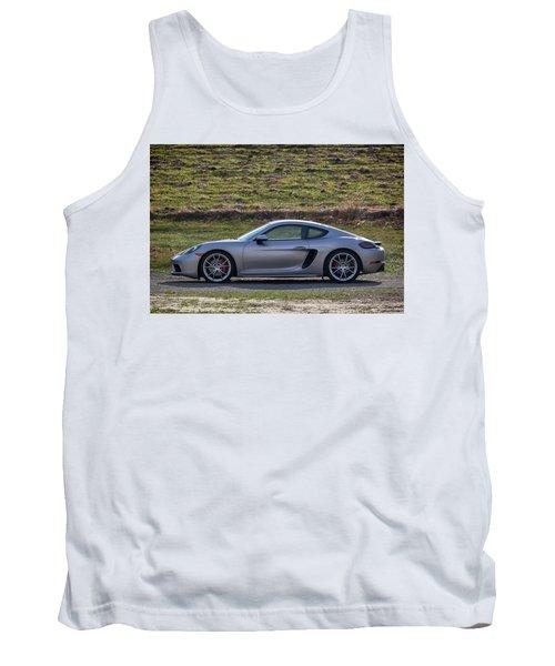 #porsche #718cayman S #print Tank Top
