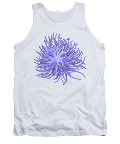 Sea Anemone Tank Top by Michal Boubin