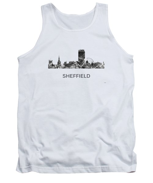 Sheffield England Skyline Tank Top