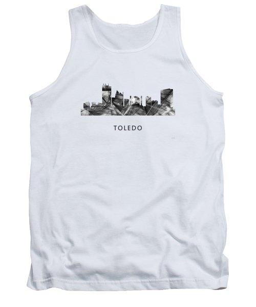 Toledo Ohio Skyline Tank Top by Marlene Watson