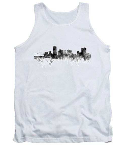 Toledo Ohio Skyline Tank Top