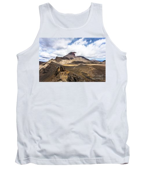 Tongariro Alpine Crossing In New Zealand Tank Top