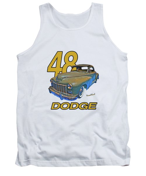 48 Dodge 3 Window Business Coupe Tank Top