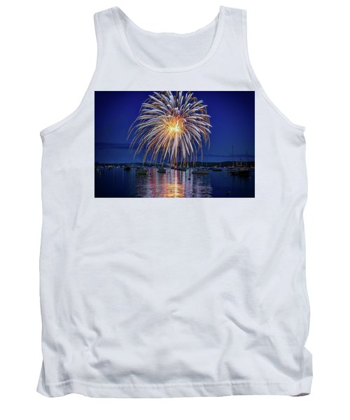 Tank Top featuring the photograph 4th Of July Fireworks by Rick Berk