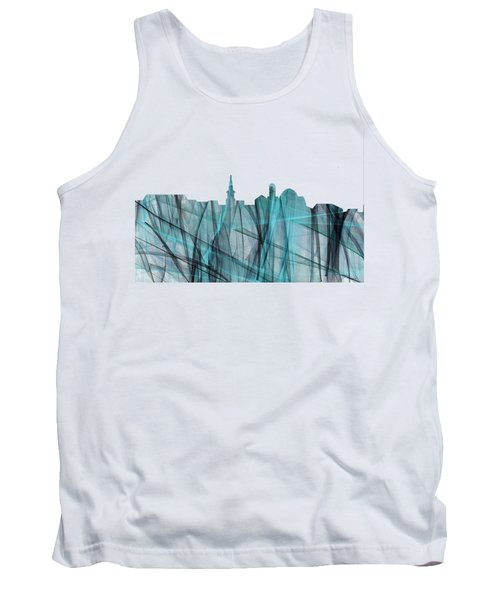 Alexandria Virginia Skyline Tank Top