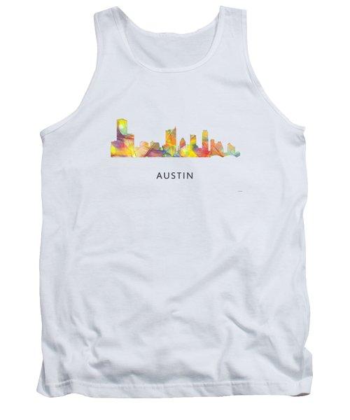 Austin Texas Skyline Tank Top