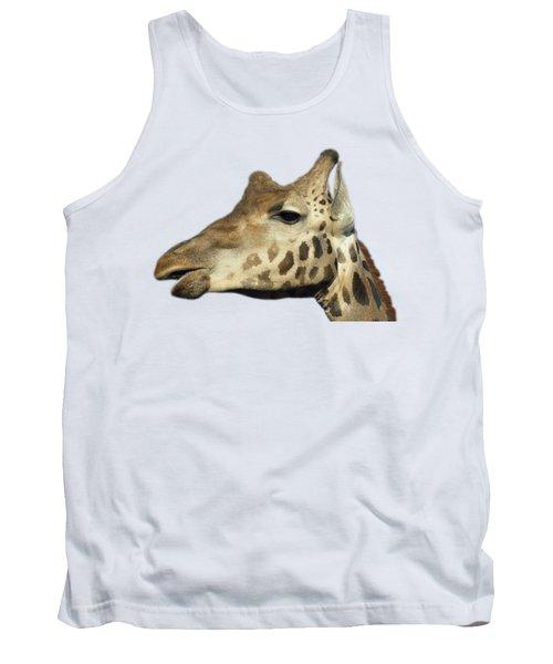 Baringo Giraffe Tank Top by George Atsametakis
