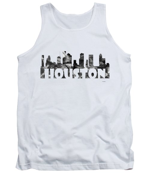 Houston Texas Skyline Tank Top