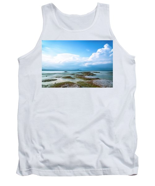 Tank Top featuring the photograph Sirmione by Traven Milovich