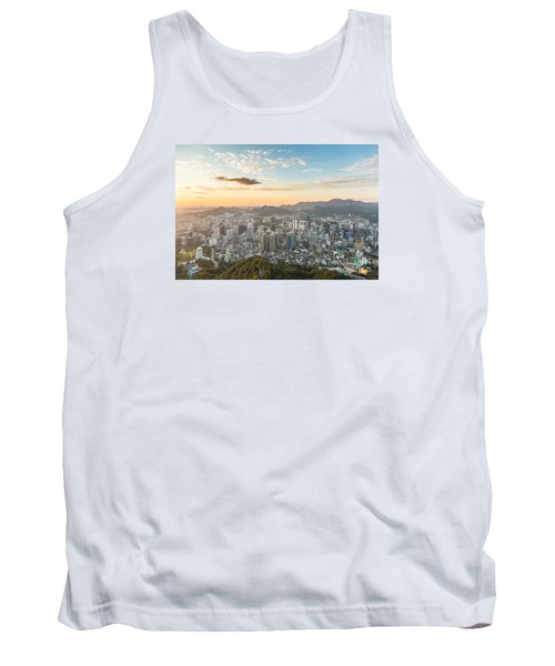 Sunset Over Seoul Tank Top
