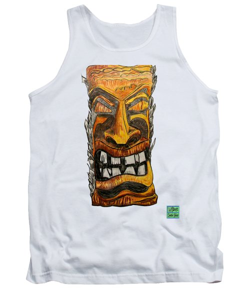 Tiki Art Tank Top