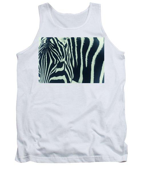 Zebra Stripes Tank Top