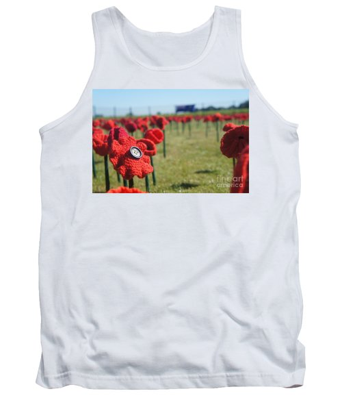 5000 Poppies Tank Top by Therese Alcorn