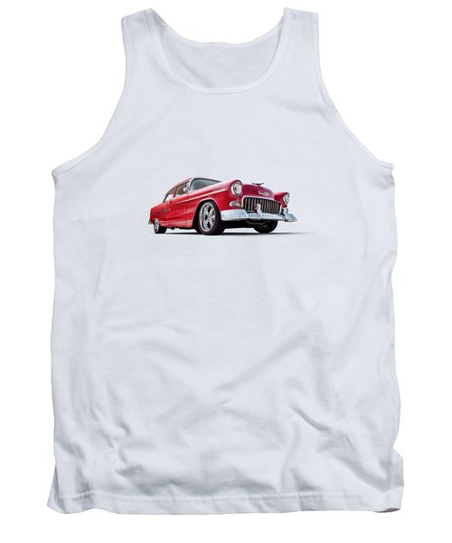 55 Red Tank Top