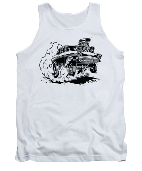 '57 Gasser Cartoon Tank Top
