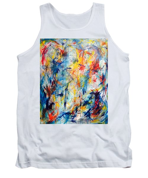 5th Chakra Meditation  Tank Top