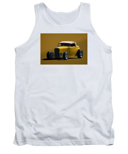 1932 Ford Roadster Hot Rod Tank Top by Tim McCullough