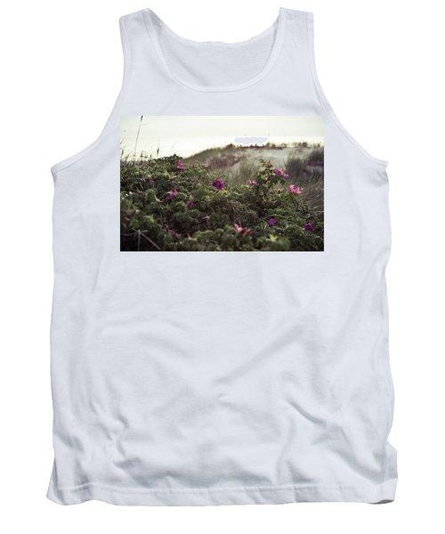 Rose Bush And Dunes Tank Top