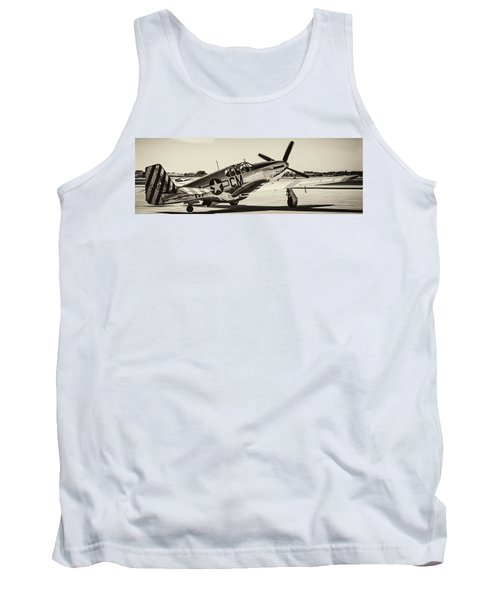 P51 Mustang Tank Top by Chris Smith