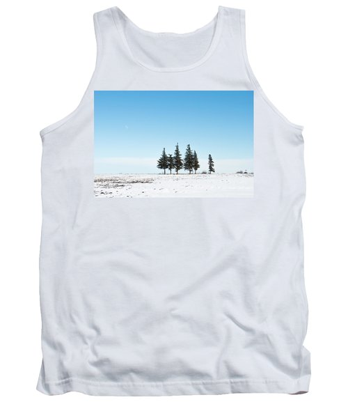 6 Pines And The Moon Tank Top