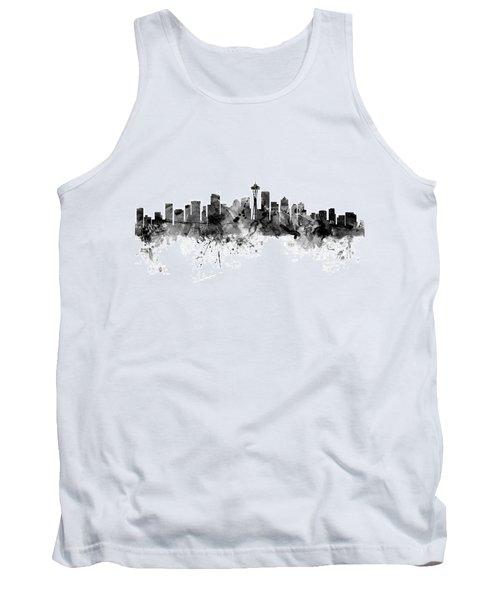 Seattle Washington Skyline Tank Top