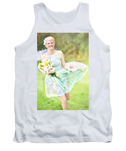 Vintage Val Iced Tea Time Tank Top