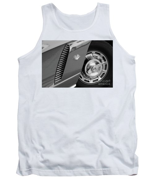Tank Top featuring the photograph '62 In Black And White by Dennis Hedberg